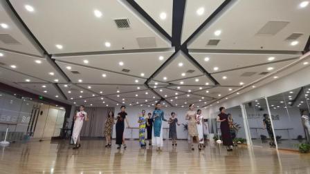 马凌云模特舞蹈培训——旗袍艺术模特脚型脚位
