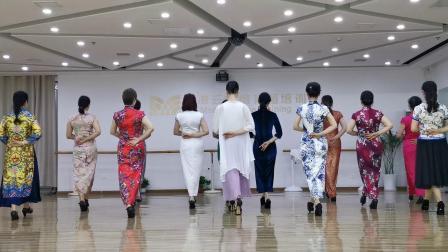 马凌云模特舞蹈培训——旗袍艺术模特台展造型
