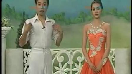 杨艺舞蹈迷人的快四花样教学基本步