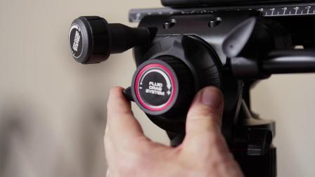曼富图Nitrotech 600系列液压摄像云台使用演示