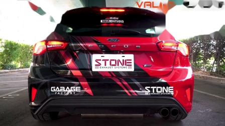 FORD Focus ST-Line MK4 x STONE EXHAUST Cat-back Sound