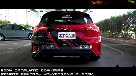 FORD FOCUS ST-Line MK4 1.5T x STONE EXHAUST Turbo-back Sound