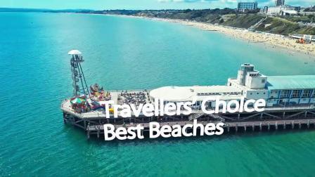 伯恩茅斯沙滩被猫途鹰TripAdvisor评为英国第1沙滩