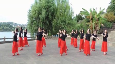 《戴震社区舞蹈队》妇联万人舞