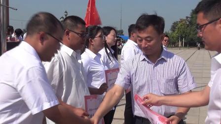 沈阳市辽中区第二高级中学2019军训闭营式