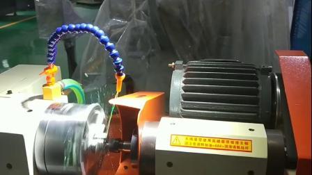 千岛机械GD-002三爪卡盘式内径冲子机改装PLC