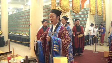 新加坡三清宫己亥年超度大法会——下幡落榜越庙回向