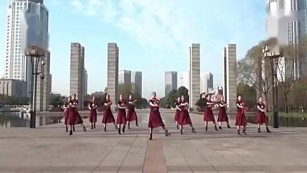 广场舞 排舞《共筑中国梦》教学版