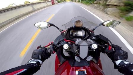 gopro 直出无裁剪 GSX250R 摩托车 虹井路 六十路如何跑山 第一集