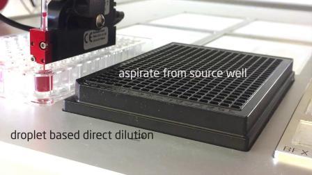 微量超微量非接触式分液工作站