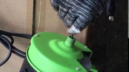 3509N砂轮机打磨头安装2