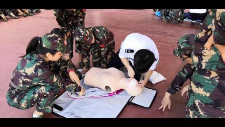 儋州市第二中学高一新生救护培训