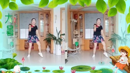 彩虹丹广场舞 我的爱要你知道 混搭水兵舞2人版