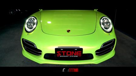 Porsche 911 Turbo S X STONE Exhaust