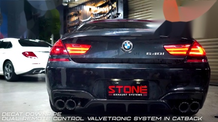 BMW F06 N55 640i STONE EXHAUST