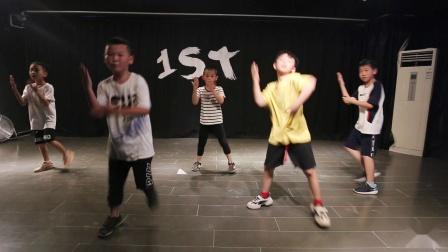 【武汉1ST舞蹈工作室】胡子少儿暑期班Hiphop初级元素组合片段练习《Jumper》