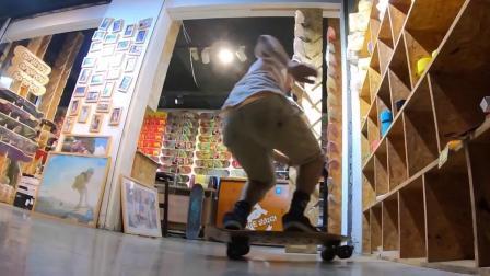 anyway小燕子新款 小鱼板滑板 皮皮滑板 视频更新