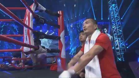 重击KO日本剑客!蒙国东首回合1分12秒KO久保正哉