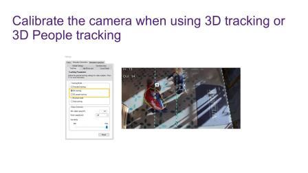 如何校准视频分析功能