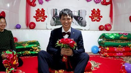 子洲县电市镇水地湾乡四合坪村婚礼摄影第一集(雅欧传媒)