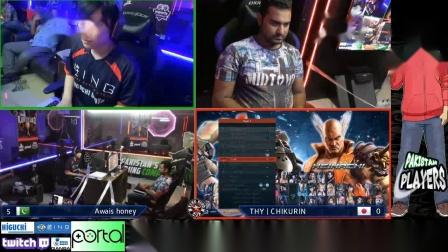 Tekken7 Awais Honey vs Chikurin FT10