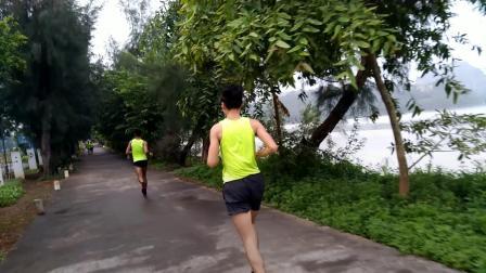 肇庆马拉松训练20190818