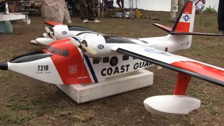 日本航模爱好者水上飞机模型大会