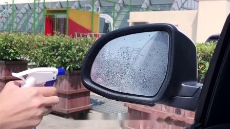 君晓天云长城风骏5欧洲版6皮卡改装饰配件反光倒车汽车后照镜防雨贴膜防水