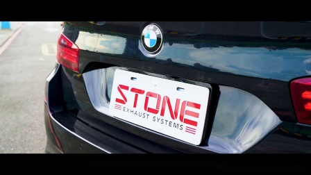 BMW 535i LCI x STONE EXHAUST Turbo-back Sound