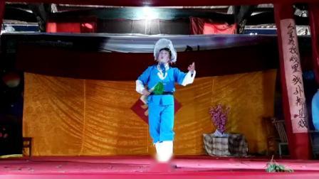 赣南采茶戏钓拐片段:田七郎,表演:刘仁川