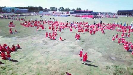 杜尔伯特蒙古族自治县那达慕大会预演现场