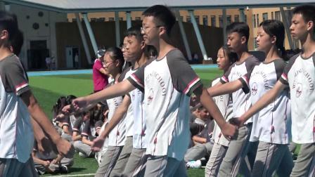 青岛为明学校2019-2020学年度新学期军训成果汇报
