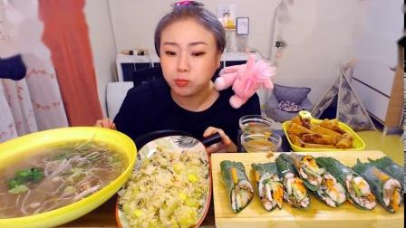 挑食的新姐-20190829【越南米粉、越南春卷、煎蛋吐司】-1