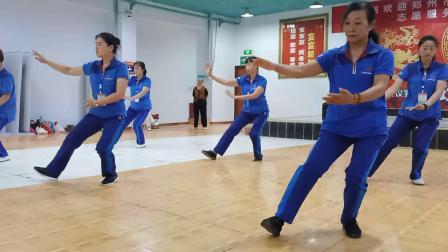 42式太极拳,2019年社体十分队展示