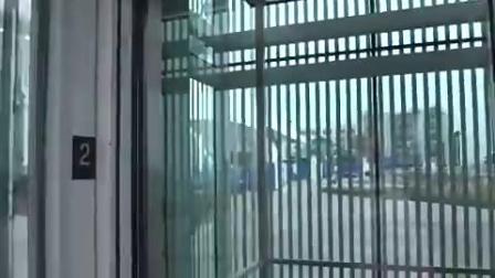 观光液压电梯在芝加哥海军码头