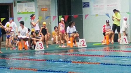 2016-8/29日弥勒参加金华婺城区中小学生游泳赛