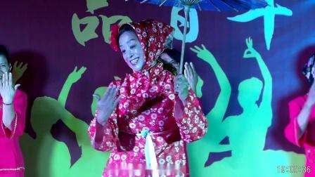 """东营快乐舞蹈队《回娘家》 东营市首届胡姬花""""舞油城人生 品百年风味 """"广场舞大赛(第三场)          2019.8.31         (谷九展录制)"""