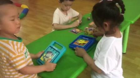 感统课-桌面视觉训练(魔方积木)201906