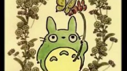 宫崎骏《龙猫》原画欣赏_高清