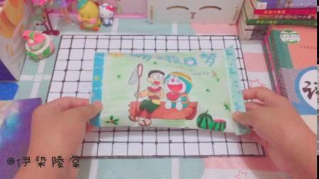 自制食玩包,哆啦A梦和大雄,满满的童年回忆,求关注丫