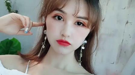 君晓天云韩国s925银针2019新款气泡水球水晶玻璃球耳环小星星金属流苏耳针