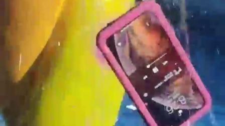君晓天云苹果5S手机保护壳防水iPhone SE防水套5全包密封硅胶防摔壳游泳外送用