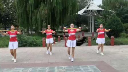 俏燕子健身队原创小绳操《老婆我对你说》编舞:段燕苹(国家健身教练)