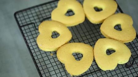 君晓天云烘焙模具6连硅胶甜甜圈模具 不粘空心爱心甜甜圈蛋糕模具烤箱家用