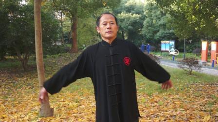 杭州市拱墅区运河广场巩式通臂拳非物质文化遗产武术'刀剑如梦'