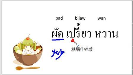 这些泰国菜,有你爱的吗