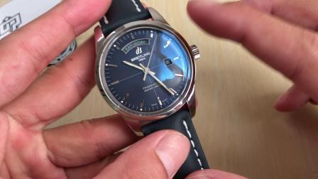 V7百年灵越洋系列 头等舱双历腕表