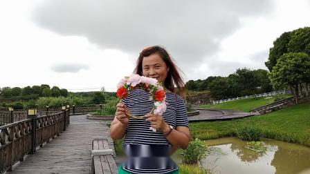 雨中游瓦屋山景区神女湖《手机拍摄》