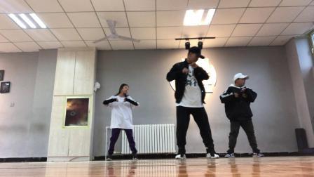 大明舞社 少儿街舞 hiphop练习
