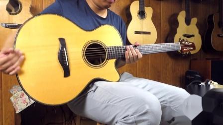 Jeff Traugott R 2000 巴西玫瑰木 手工吉他评测 沁音原声